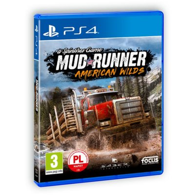 Gra PS4 Spintires: MudRunner American Wilds Edition