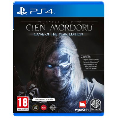 Gra PS4 Śródziemie: Cień Mordoru Game of the Year Edition