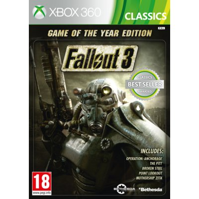 Gra Xbox 360 Fallout 3 Game Of The Year Edition Classics