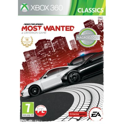 Gra Xbox 360 Need For Speed Most Wanted Classics