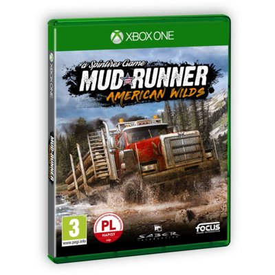Gra Xbox One Spintires: MudRunner American Wilds Edition