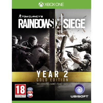 Gra Xbox One Tom Clancy's Rainbow Six Siege: Gold Edition YEAR 2