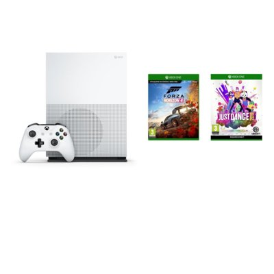 Konsola MICROSOFT Xbox One S 1TB + Forza Horizon 4 + Just Dance 2019