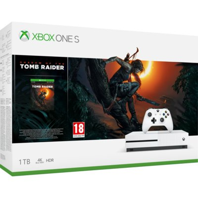 Konsola MICROSOFT Xbox One S 1TB + Shadow of the Tomb Raider