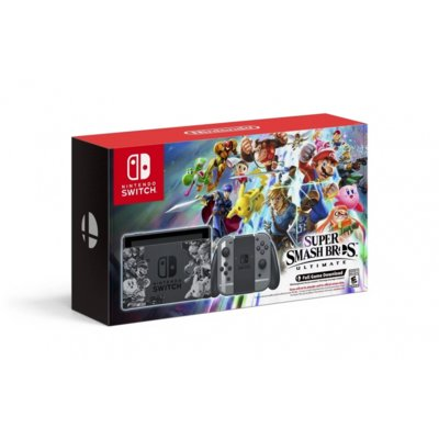 Konsola NINTENDO Switch Super Smash Bros. Ultimate Edition + Joy-Con Szary