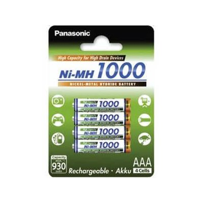 Akumulator PANASONIC AAA 930 mAh High Capacity 4szt