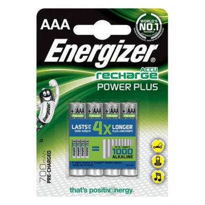 Akumulatorki ENERGIZER Power Plus AAA 700mAh 4szt.