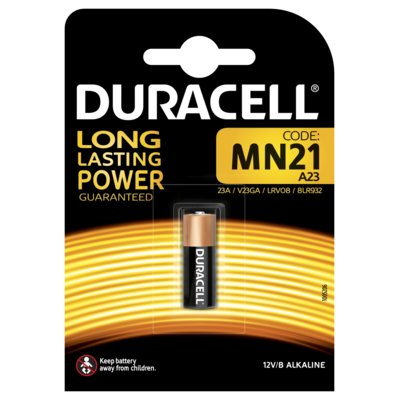 Bateria DURACELL MN21 12V Security