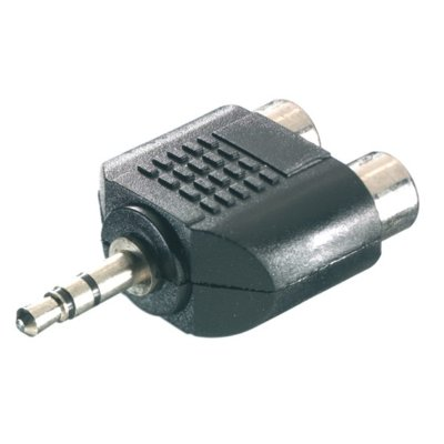 Adapter minijack 3.5mm-2xRCA VIVANCO 46047