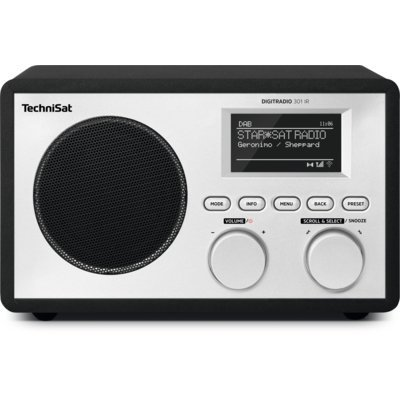 Radio TECHNISAT DigitRadio 301 IR (0000/4996) Czarny