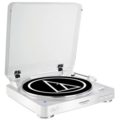Gramofon AUDIO-TECHNICA AT-LP60BT Biały