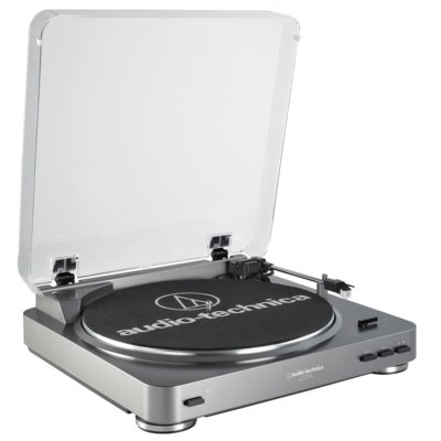 Gramofon AUDIO-TECHNICA AT-LP60USB Srebrny