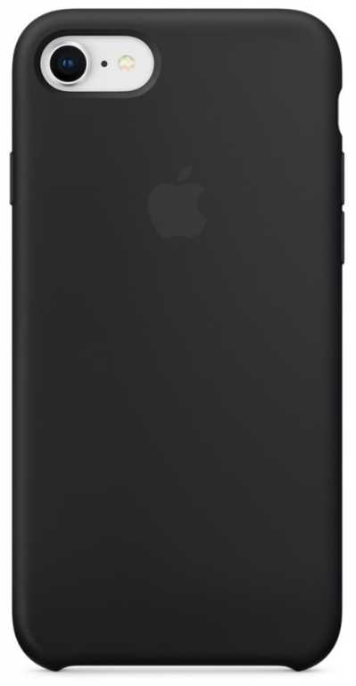 Apple iPhone 8/7 Silicone Case MQGK2ZM/A Czarny Etui