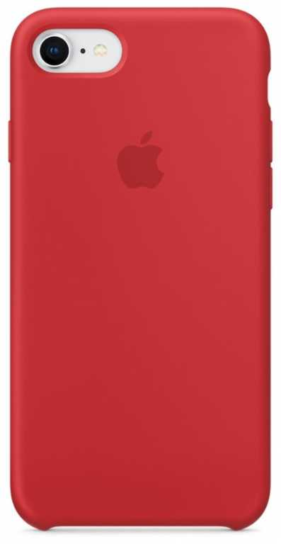Apple iPhone 8/7 Silicone Case MQGP2ZM/A Czerwony Etui
