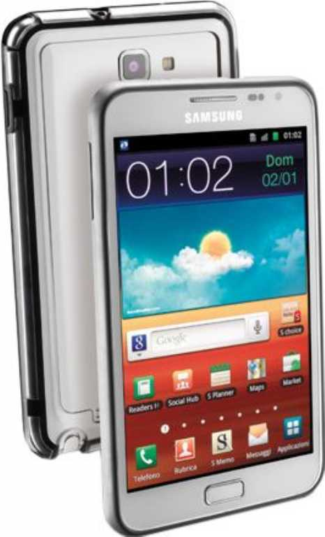 Cellular line Anti-Shock do Samsung Galaxy Note Etui