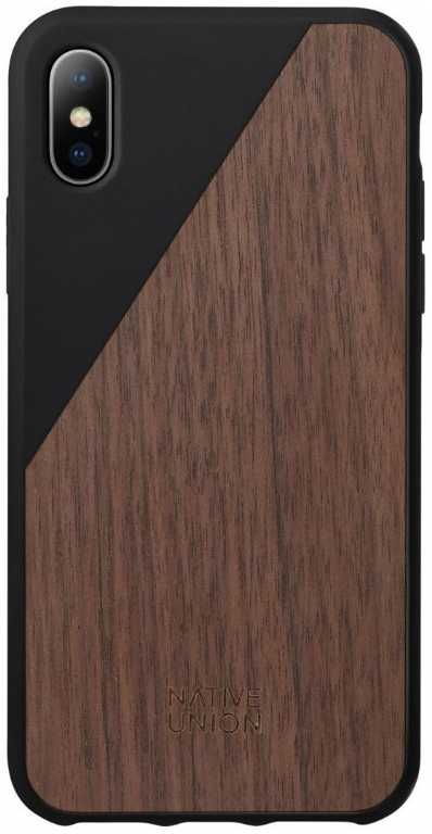 Design pool limited Clic Wooden do iPhone X Etui