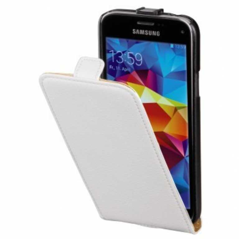 Hama DO GALAXY S5 MINI SMART CASE BIAŁY Etui