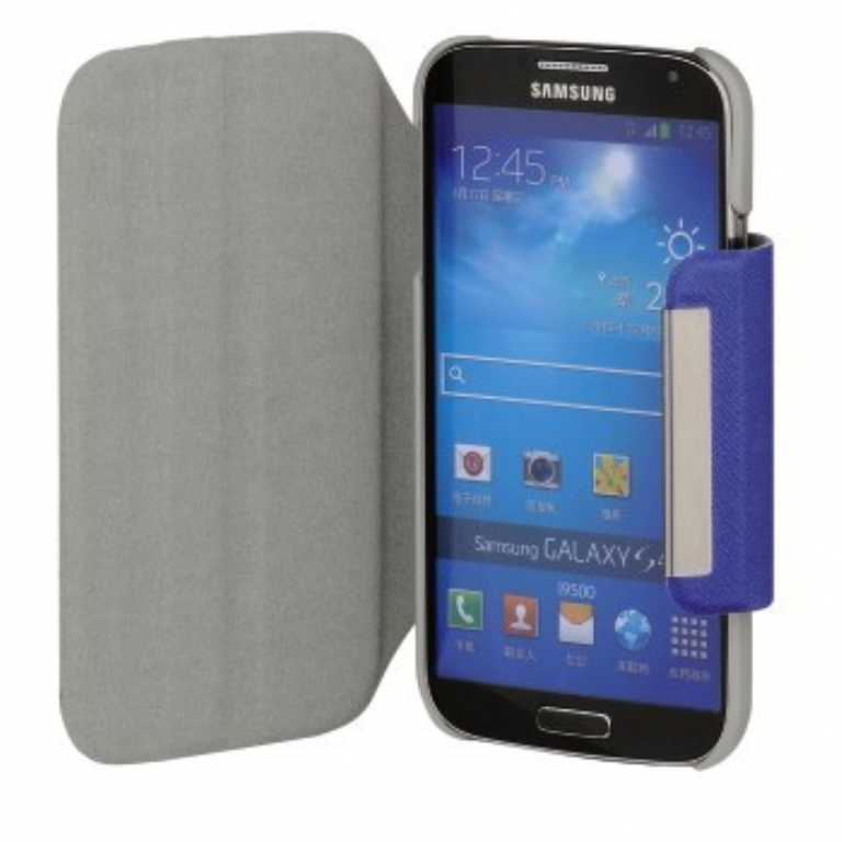 Hama DO SAMSUNG GALAXY S4 MINI BOOK LOOK+STAND NIEBIESKI Etui
