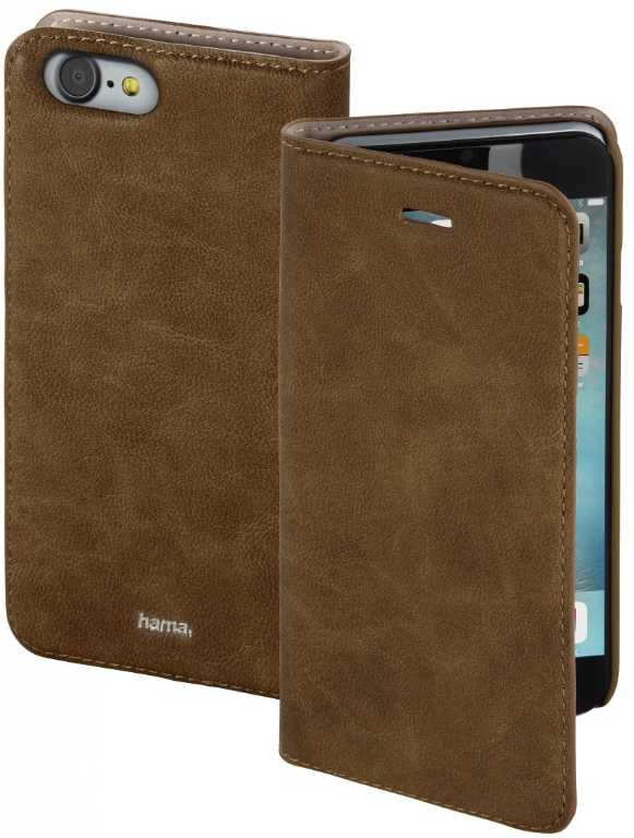 Hama Guard Case Booklet do Apple iPhone 7 Plus Brązowy Etui