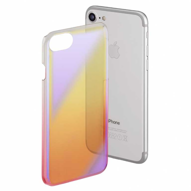 Hama Mirror do Apple Iphone 6/6S/7/8 Żółto-różowy Etui