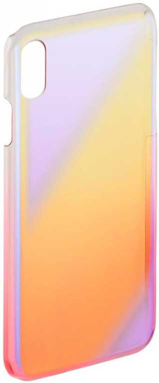 Hama Mirror do Apple iPhone X Żółto-różowy (00181396) Etui
