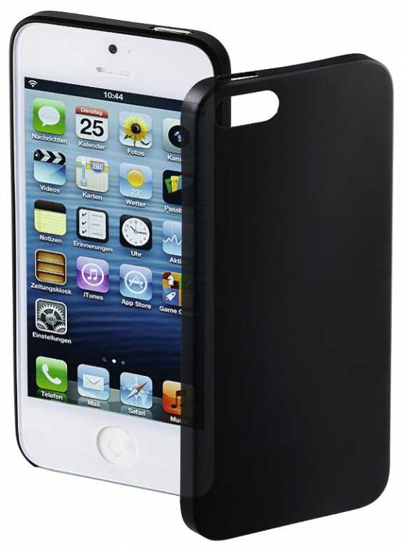 Hama Ultra Slim do Apple iPhone 5/5s/SE Czarny Etui