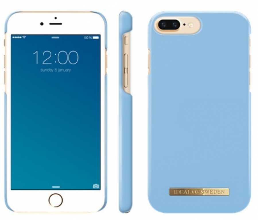 Ideal of sweden ab Fashion Case Airy do iPhone 6/6s/7/7s/8 Plus Niebieski Etui