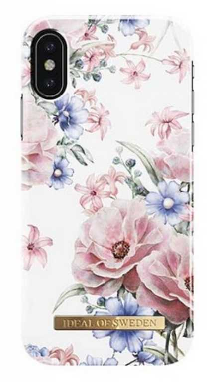 Ideal of sweden ab Fashion Case Floral Romance do iPhone X Etui