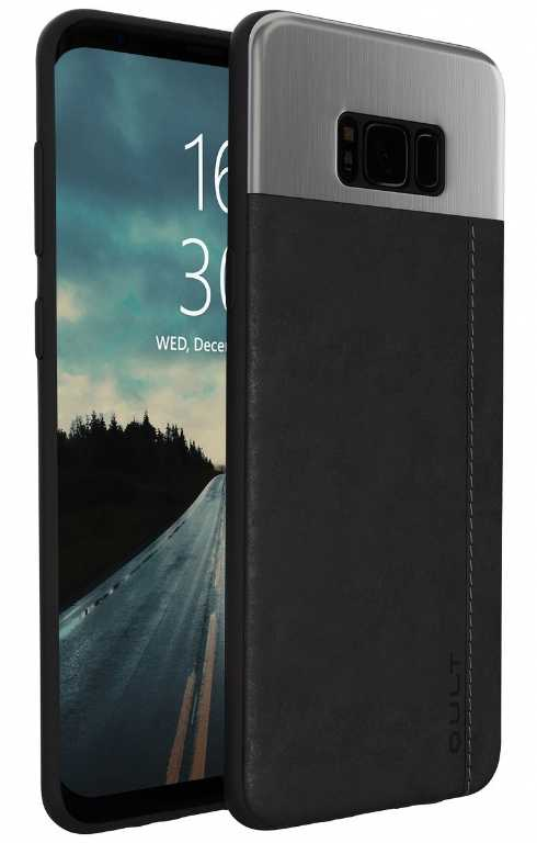 Kltrade Black Case Slate do Samsung S8 G955 Plus Czarny Etui