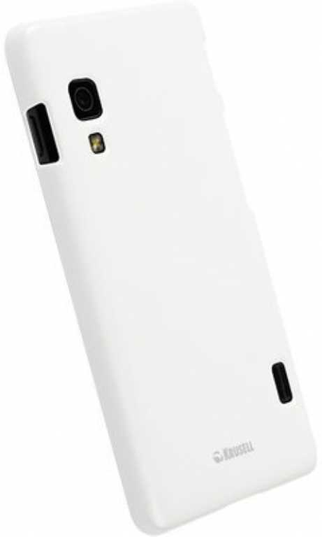 Lg COLORCOVER FOR LG OPTIMUS L5 II WHITE METALLIC Etui