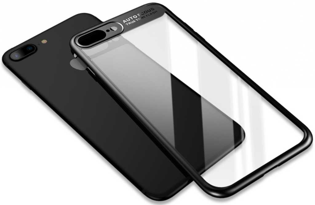 Rock Clarity do Apple iPhone 7/8 Plus Czarny Etui