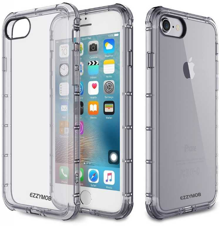 Rock Fence do Apple iPhone 7/8 Bezbarwny Etui