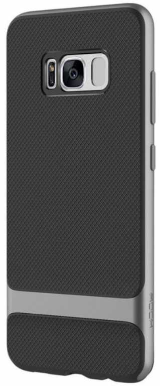 Rock Royce do Samsung Galaxy S8 Czarno-szary Etui