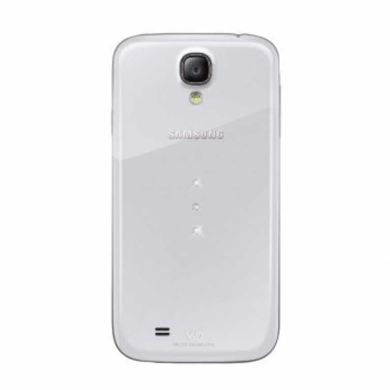 Wd & br DO SAMSUNG GALAXY S4 WHITE DIAMONDS TRINITY PRZEZROCZYSTY Etui