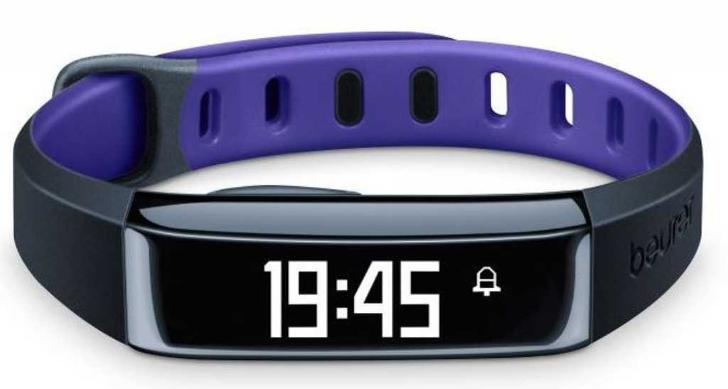 Beurer AS 80 Fioletowy Smartband