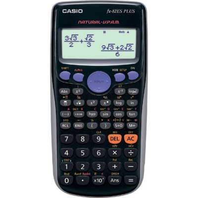 Kalkulator CASIO FX-82ES PLUS Czarny