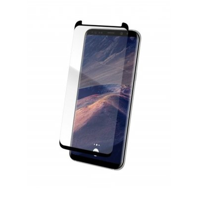Szkło THOR Glass Case-Fit do Samsung Galaxy S9 Plus Czarny