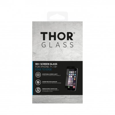 Szkło THOR Glass Full Screen do Apple iPhone 7/8 Plus Czarny
