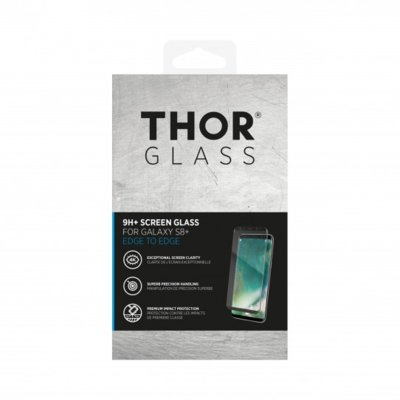 Szkło THOR Glass Full Screen do Samsung Galaxy S8+ Czarny