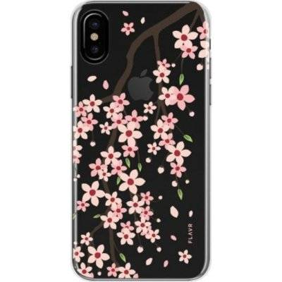Etui FLAVR iPlate Cherry Blossom do Apple iPhone X Wielokolorowy (30435)