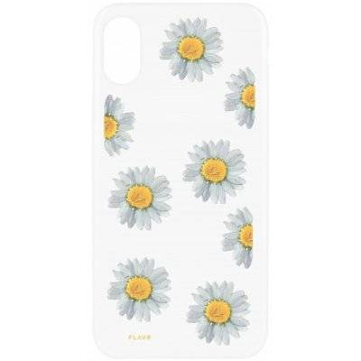Etui FLAVR iPlate Real Flower Daisy do Apple iPhone X Wielokolorowy (30110)