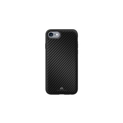 Etui HAMA Black Rock Material Real Carbon do Apple iPhone 7 Czarny