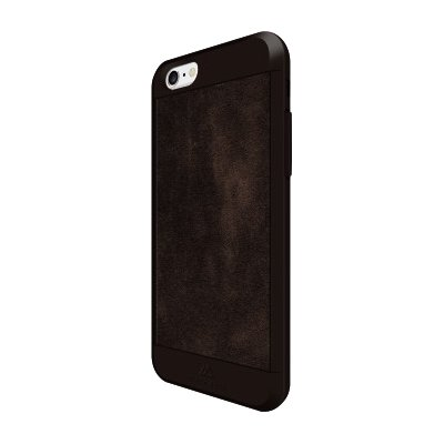 Etui HAMA Black Rock Material Suede do Apple iPhone 6/6S Ciemnobrązowy
