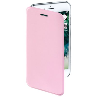 Etui HAMA Booklet Clear do Apple iPhone 7 Różowy