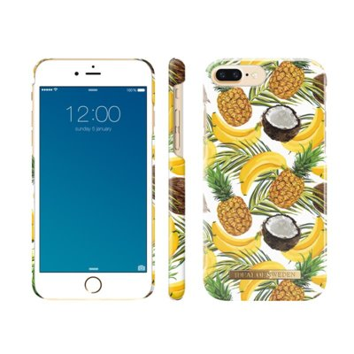 Etui IDEAL OF SWEDEN Fashion Case do Apple iPhone 6/6s/7/8 Banana coconut