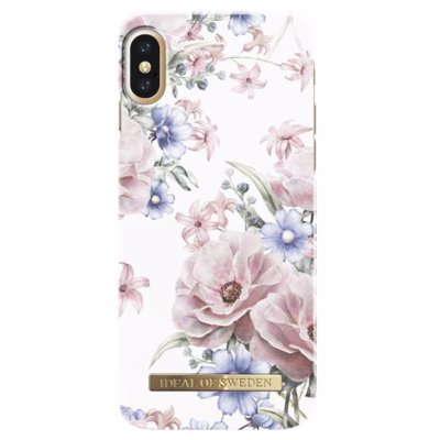 Etui IDEAL OF SWEDEN Fashion Case do Apple iPhone X Floral ramance