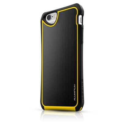 Etui ITSKINS Fusion Alu Core do iPhone 6 Czarno-żółty