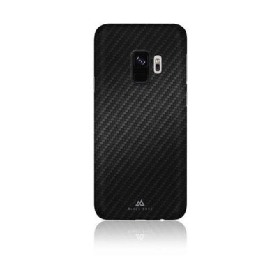 Etui na smartfon BLACK ROCK Ultra Thin Iced do Samsung Galaxy S9 Czarmy