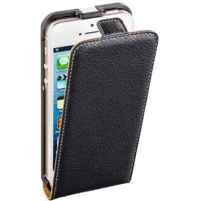 Etui na smartfon HAMA Smart Case do Apple iPhone 5/5S/SE Czarny