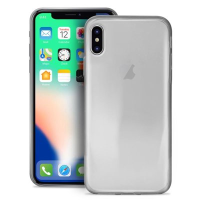 Etui na smartfon PURO 0.3 Nude do Apple iPhone Xs Max Przezroczysty IPCX6503NUDETR